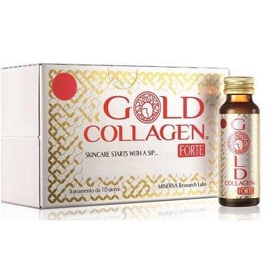 GOLD COLLAGEN FORTE 10FL + OMAGGIO  MASCHERA IDROGEL GOLD (valore € 7,70)