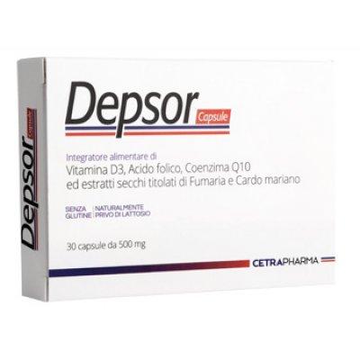 DEPSOR 30CPS 500MG