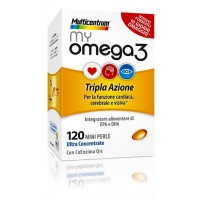 MULTICENTRUM MYOMEGA3 120PRL