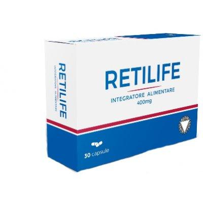 RETILIFE INTEG 30CPS 400MG