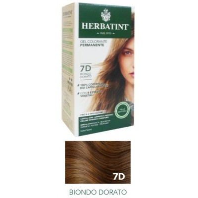 HERBATINT 7D BIONDO DORATO 135ML