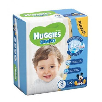 HUGGIES BASE BOY 3 20PZ