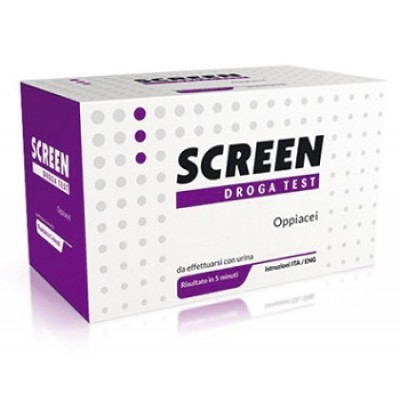 SCREEN DROGA TEST OPPIACEI