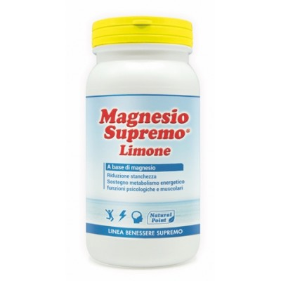 MAGNESIO SUPREMO LEMON NAT/POINT