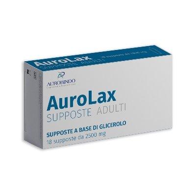 AUROLAX SUPPOSTE 2500MG 18SUPP