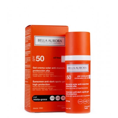 GEL SOLARE SPF50 OIL FREE A/MACC