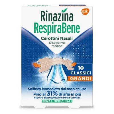 RINAZINA RESPIRABENE CL GR 10PZ