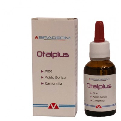BRADERM OTAL-PLUS GOCCE 30ML