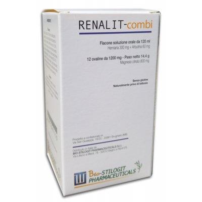 RENALIT-COMBI 12CPR+SCIR 120ML