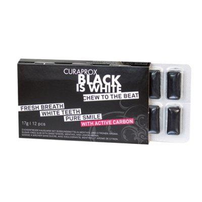 CURAPROX BLACK IS WHITE TG 12P
