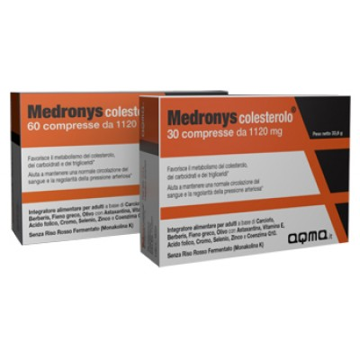 MEDRONYS COLESTEROLO 30CPR