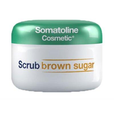 SOMATOLINE-C SCRUB BROWN SUG350G