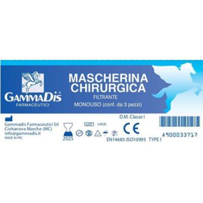 MASCHERA SMOG 3PZ GAMMADIS