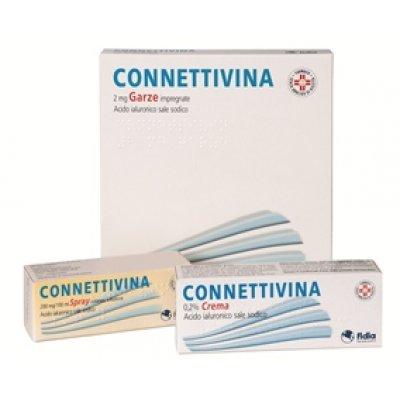 CONNETTIVINA*10 garze 2 mg 10 cm x 10 cm