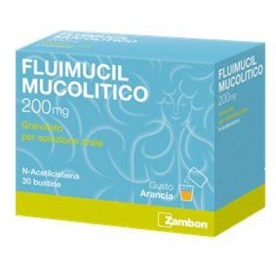 FLUIMUCIL MUC*OS 30BUST 200MG
