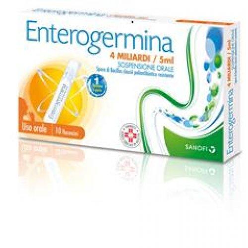 ENTEROGERMINA*os sosp 10 flaconcini 4 mld 5 ml