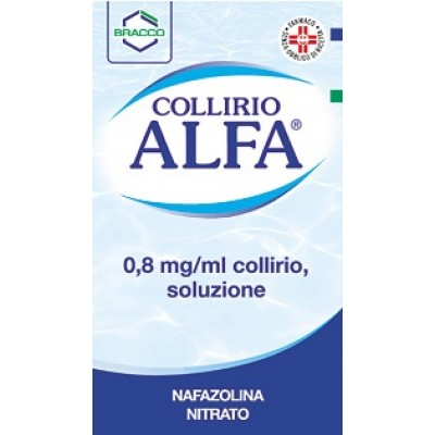 COLLIRIO ALFA*collirio 10 ml 0,8 mg/ml