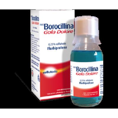 NEOBOROCILLINA GOLA DOLORE*collutorio 400 mg 160 ml 0,25%