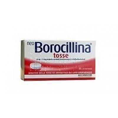 NEOBOROCILLINA TOSSE*20 pastiglie 10 mg + 1,2 mg