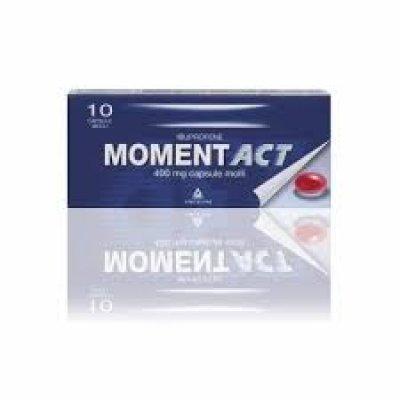 MOMENTACT*10CPS MOLLI 400MG