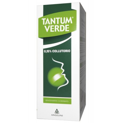 TANTUM VERDE*collutorio 240 ml 0,15%
