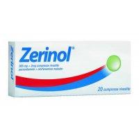 ZERINOL*20 cpr riv 300 mg + 2 mg