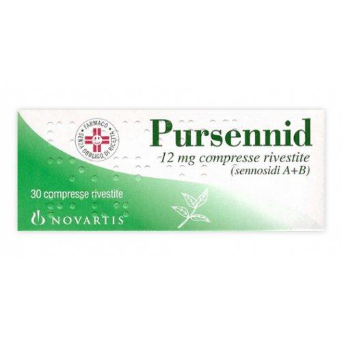 PURSENNID*30CPR RIV 12MG