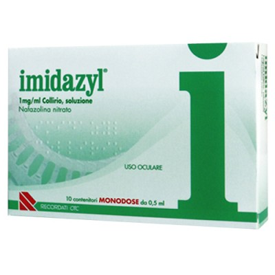 IMIDAZYL*10 monod collirio 0,5 ml 0,1%