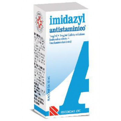 IMIDAZYL ANTISTAMINICO*collirio 10 ml 1 mg/ml + 1 mg/ml