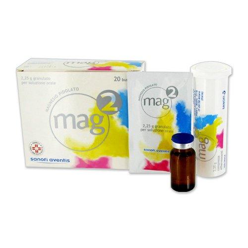 MAG 2*os soluz 20 flaconcini 10 ml 1,5 g/10 ml