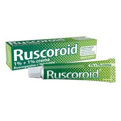 RUSCOROID*crema rett 40 g 1%+1%