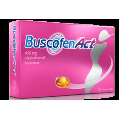 BUSCOFENACT*12 cps molli 400 mg
