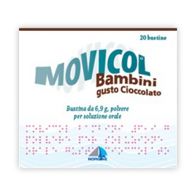 MOVICOL CIOCCOL*BB 20BUST 6,9G
