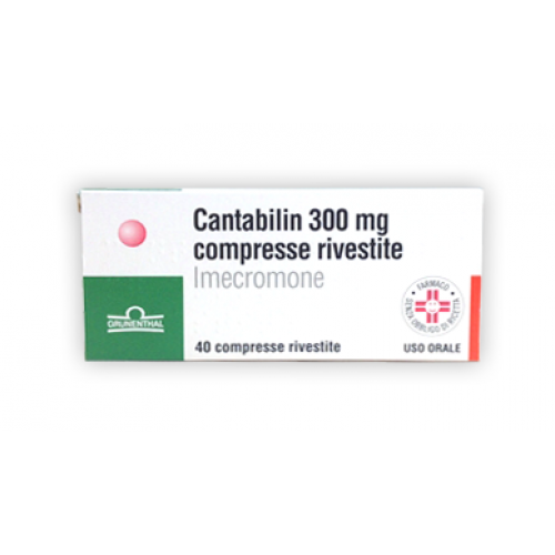 CANTABILIN*40CPR RIV 300MG
