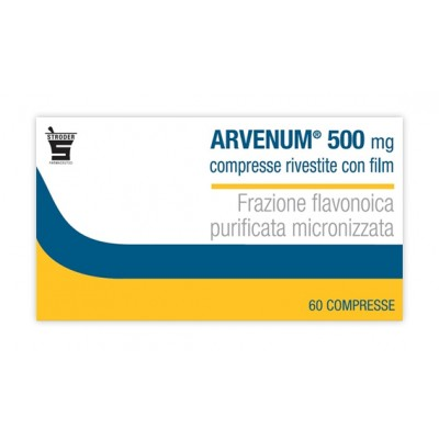 ARVENUM*60 cpr riv 500 mg