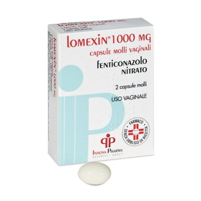 LOMEXIN*2CPS MOLLI VAG 1000MG