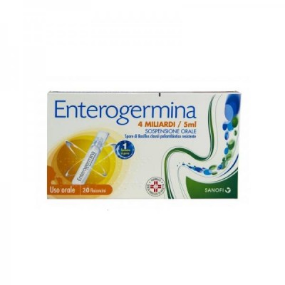 ENTEROGERMINA*os sosp 20 flaconcini 4 mld 5 ml