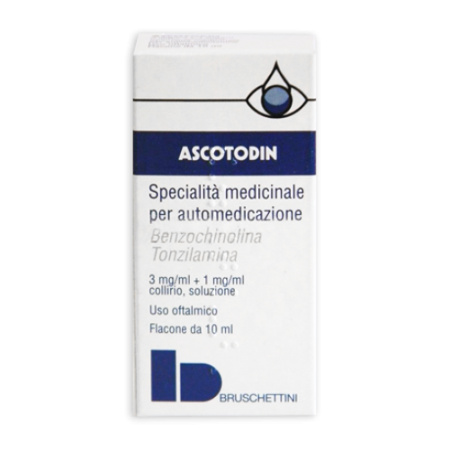 ASCOTODIN*collirio 3 mg/ml + 1 mg/ml 10 ml