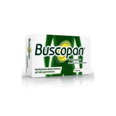 BUSCOPAN*6SUPP 10MG