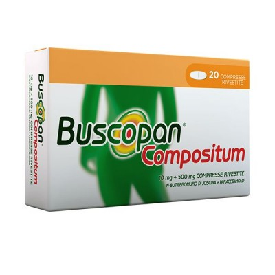 BUSCOPAN COMPOSITUM*20 cpr riv 10 mg + 500 mg