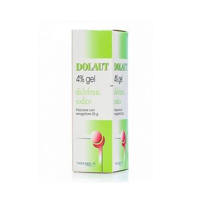 DOLAUT*GEL SPRAY FL 25G 4%