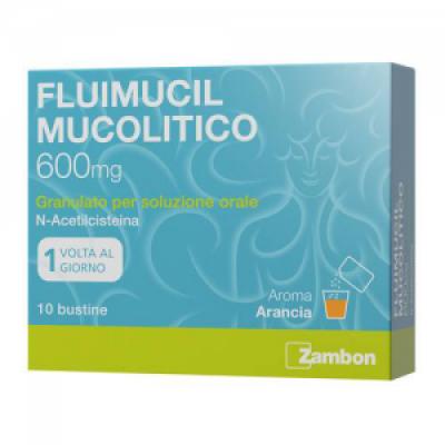 FLUIMUCIL MUCOLITICO*os grat 10 bust 600 mg