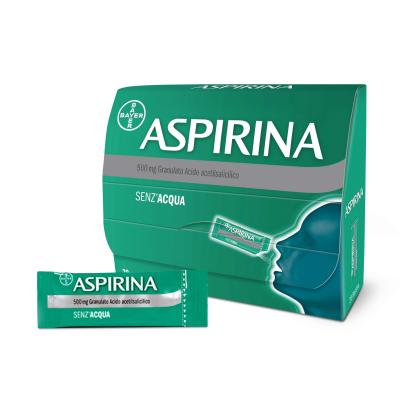 ASPIRINA*OS GRAT 20BUST 500MG